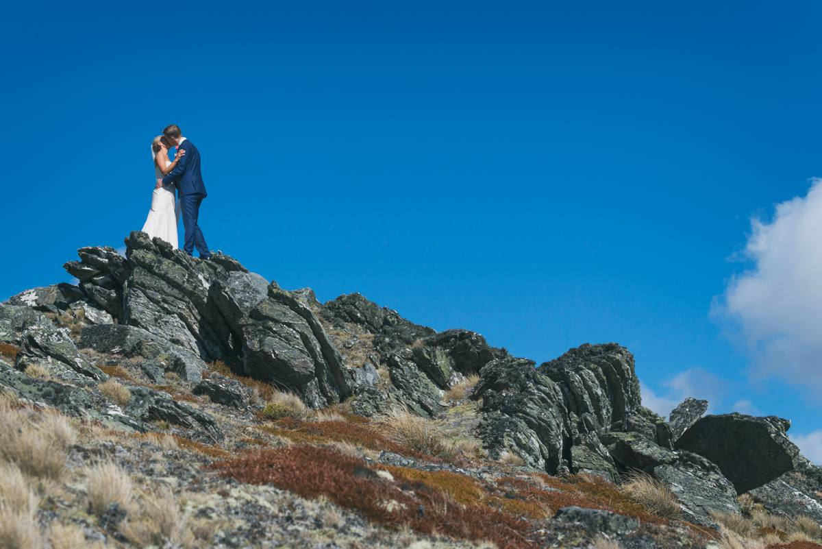 Heli Wedding - The Remarkables - Queenstown Wedding Photographer