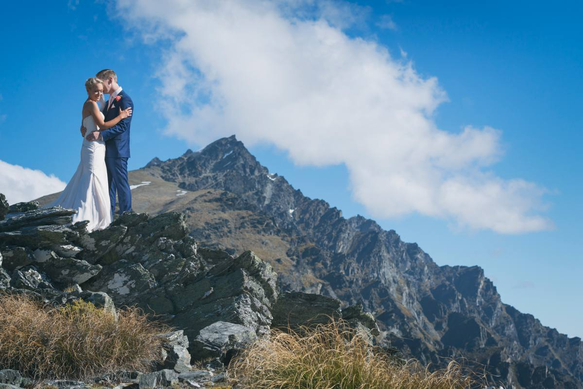 Jack's Point Wedding - Heli Wedding - The Remarkables - Queenstown Wedding Photographer