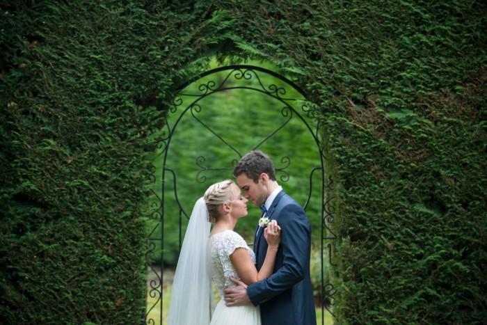 MICHELLE & BYRON'S ORCHARD GARDEN WEDDING - CLYDE