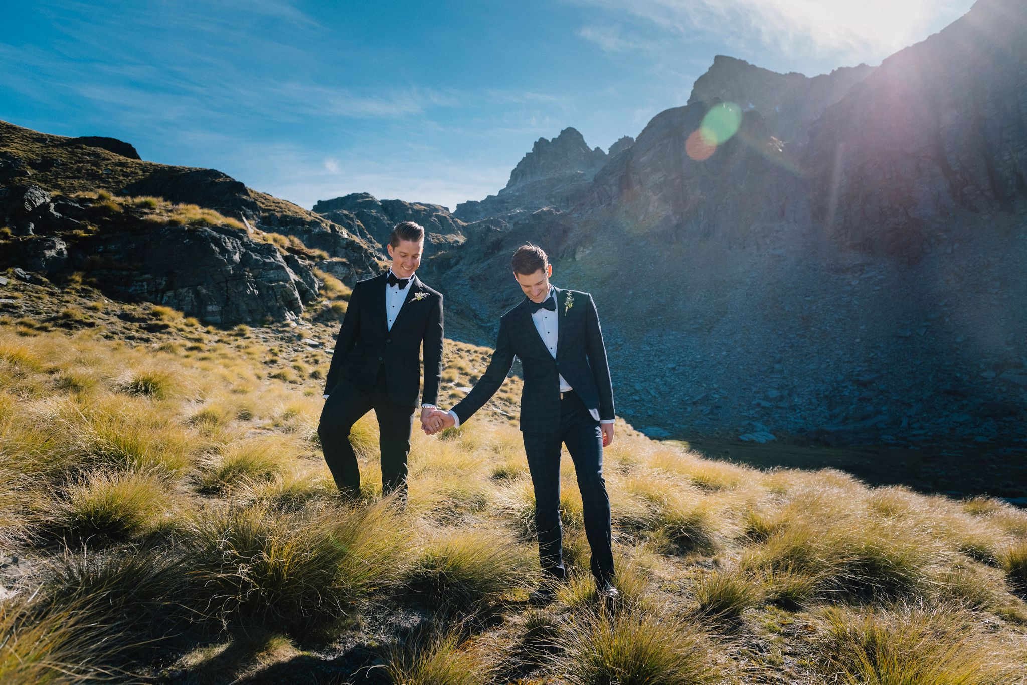JACKSON & CHARLIE'S QUEENSTOWN WEDDING