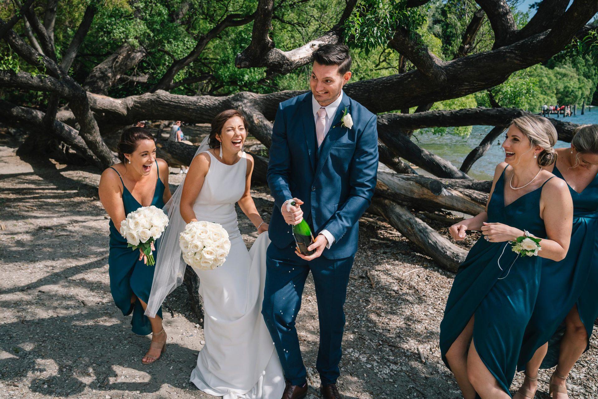 Rachel and Ross' Queenstown Wedding